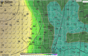 Surface Dewpoint