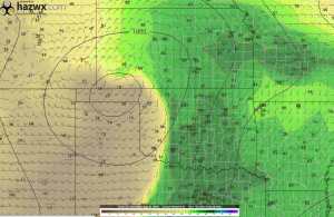18z GFS Dewpoint Hr 102